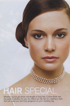 "Cosmo ""Summer Bride"" Hair Special 1998"